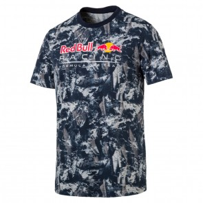 'Adult' Red Bull Racing '2017 Allover Tee' Light grey