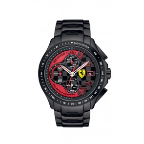 Scuderia Ferrari Race Day chrono staal