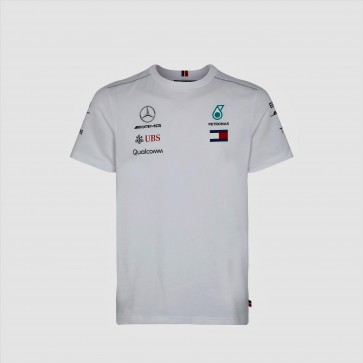 'Adult' 2018 Mercedes AMG F1 Team Driver Tee 'Wit'