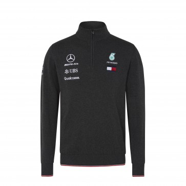 'Adult' 2018 Mercedes AMG F1 Half Zip Knitted jumper