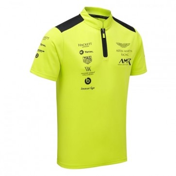 'Adult' Aston Martin Racing Team Polo Shirt 2018 Lime Green