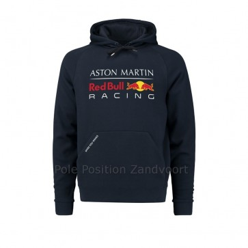 'Adult' 2018 Aston Martin Red Bull Racing Pull Over Hoodie 'Blauw'
