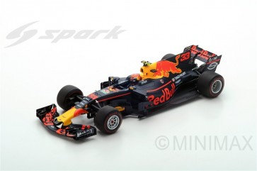 1:18 Red Bull Racing RB13, Max Verstappen 'Winner GP Malaysia 2017' 'SPARK'