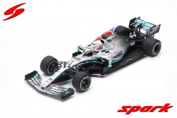 1:18 Mercedes-AMG Petronas Motorsports F1 W10 EQ Power+ Lewis Hamilton Winner British Grand Prix 2019
