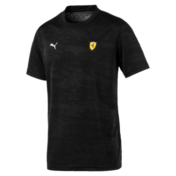 2018 Ferrari Small Shield Tee black