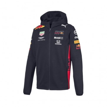'Adult' 2019 Aston Martin Red Bull Racing Team Hooded Sweat Jacket