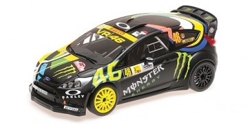 1:18 Ford Fiesta RS WRC #46 Valentino Rossi & Carlo Cassina Winners Monza Rally Show