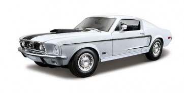 Ford Mustang GT Cobra 1968 1:18