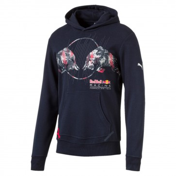 'Adult' Red Bull Racing '2017 Graphic Hoodie' Blue