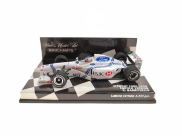 1:43 Stewart Ford 1998 Launch Version Rubens Barrichello