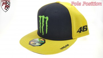 'Adult' Valentino Rossi 46 Monster Cap Yellow