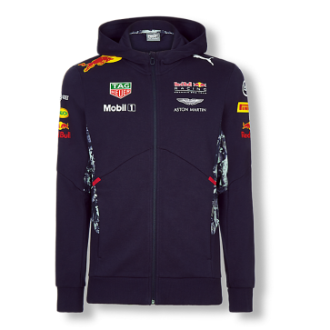 'Adult' Red Bull Racing 'Team Hooded Sweat Jacket 2017'