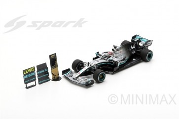 1:43 Mercedes-AMG Petronas Motorsports F1 Team, Lewis Hamilton 2nd Place & World Champion USA Grand Prix 2019