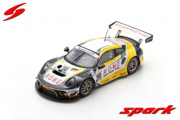 1:43 Porsche 911 GT3 R No.98 ROWE Racing 5th 24H Spa 2019 S. Müller - R. Dumas - M. Jaminet