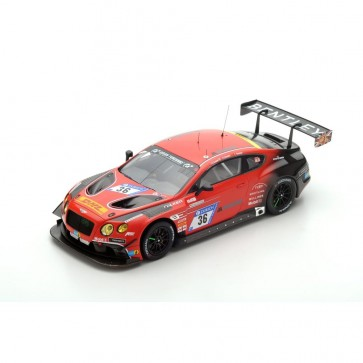 1:18 Bentley Continental GT3 #36 Bentley Team ABT Nürburgring 24H 2017