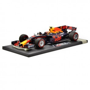 1:18 Red Bull Racing Tag Heuer RB13, Max Verstappen 'Winner GP Maleisië' *Minichamps edition*