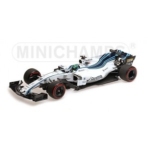1:18 Williams Mercedes FW40 - Felipe Massa last Abu Dhabi GP 2017