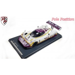 1:18 Jaguar XJR11 Silk Cut #1, Jan Lammers en Patrick Tambay, Spa Francorchamps 1989