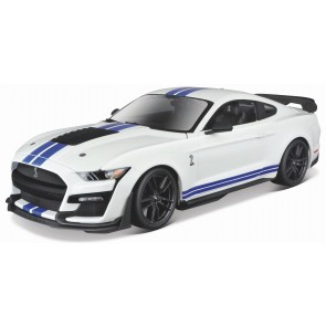 1:18 Ford Mustang Shelby GT500 Wit
