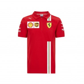 Scuderia Ferrari 2021 Adult Team Polo