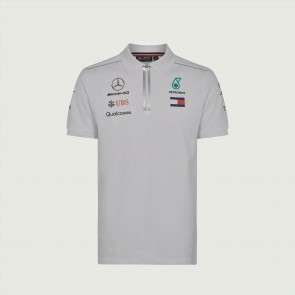 'Adult' 2018 Mercedes AMG F1 Team Polo 'Wit'