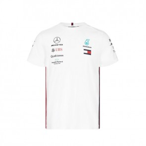 'Adult' 2019 Mercedes AMG Petronas Motorsport Driver Tee Wit