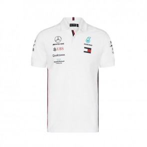 'Adult' 2019 Mercedes AMG Petronas Motorsport Polo Wit