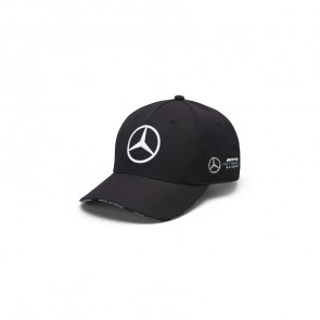 'Adult' 2019 Mercedes AMG Petronas Motorsport Team Baseball Cap Zwart