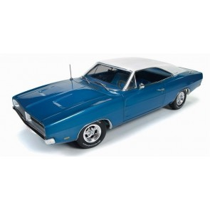 1:18 1969 Dodge Charger white hat special