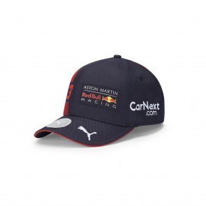 Aston Martin Red Bull Racing Kids Verstappen Baseball Cap