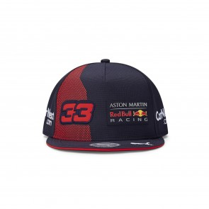 Aston Martin Red Bull Racing Adult Verstappen Flatbrim Cap