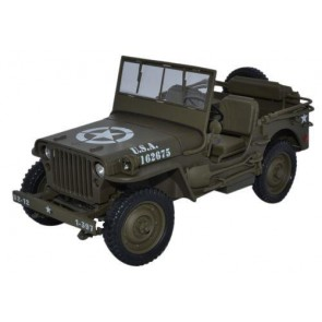 1:18 1/4 Ton Army Truck