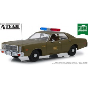 "1:18 1977 Plymouth Fury 'Military Police' ""The A-Team"""