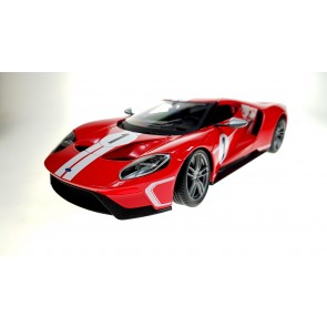 1:18 Ford GT 2017 #1 rood-wit