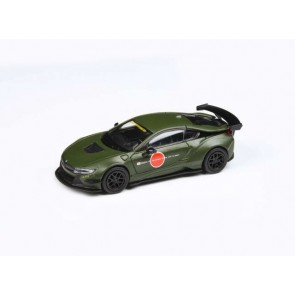 1:64 BMW i8 (LHD) Liberty Walk 'Matt Green'
