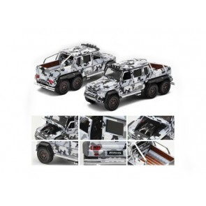 1:64 Mercedes Benz G63 AMG 6x6 '1st edition' Black & White Camo