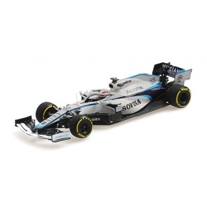 1:43 Williams Racing Mercedes FW43, G. Russell '2020 Hungarian Grand Prix'