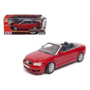 1:18 Audi A4 Convertible rood