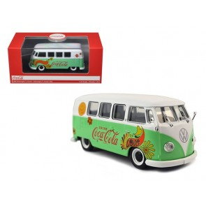 1:43 VW T1 Samba Bus Coca Cola Flower Version 1959