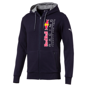 'Adult' 2018 Red Bull Racing Hooded Sweat Jacket 'Blauw'