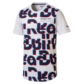 'Adult' 2018 Red Bull Racing Race Tee 'Wit'