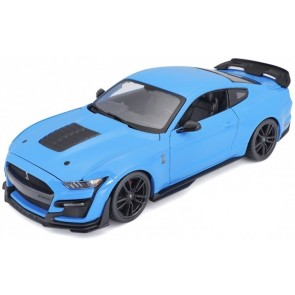 1:18 Ford Mustang Shelby GT500 Lichtblauw