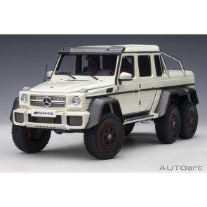 1:18 Mercedes-Benz G63 AMG 6x6 Designo Diamond White