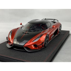 1:18 Koenigsegg Regera Ghost Package Candy Apple Red & Carbon