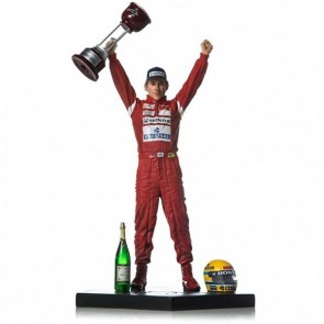 Ayrton Senna Action Figurine 1988 Japan GP 1/10