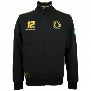 'Adult' Ayrton Senna Sweatjacket Classic Team Lotus