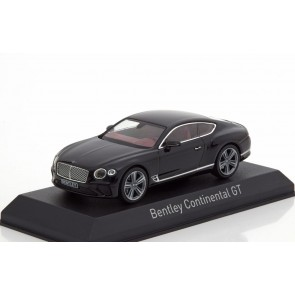 1:43 Bentley Continental GT 2018 - Beluga Black