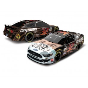 1:24 NASCAR Ford Mustang, Corey Lajoie '2020 Keen Parts Face Mask'