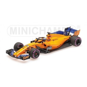 1:43 McLaren MCL33 Fernando Alonso 300th F1 GP 2018 Canada