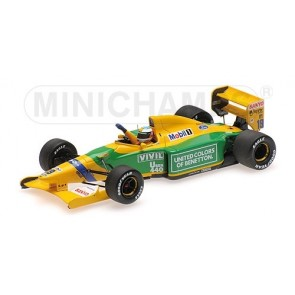 1:43 Benetton Ford B192 Michael Schumacher 1st F1 win Belgium 1992